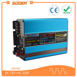Suoer 1000W DC 12V 220Vの組み込みの太陽コントローラ(SUS-1000A)が付いている自動太陽エネルギーインバーター