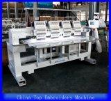 China Holiauma cabeza multi función 4 Jefe de la máquina de bordado tubular de la tapa de 3D de la máquina de bordado de alta velocidad