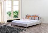 Luxuxentwurfs-niedriger Preis-Bett formt italienisches ledernes Bett