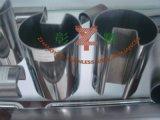 304 316 유리를 위한 장식적인 스테인리스 배열된 관