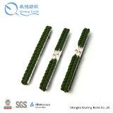Cordes élastiques vertes de torsion de pantalon de jarretière