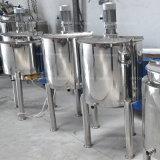 Calefacción de acero inoxidable revestido depósito mezclador jugo