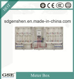 Haut de la qualité de la phase PC IP44 étanche unique matériau de l'énergie électrique/du boîtier de compteur de puissance avec 3c, ce certificat TUV