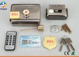 Cerradura de puerta eléctrica de control remoto con tarjeta de deslizar para puertas