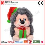 美しいクリスマスのギフトの赤ん坊の子供のためのかわいいぬいぐるみのハリネズミ