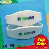 방수 실리콘 LF TK4100와 FM08는 팔찌 주파수 RFID 이중으로 한다