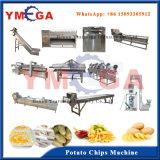Projeto avançado qualificado congelado e microplaquetas de batata fritadas que manufaturam a máquina