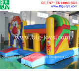Giant Inflatable Bouncer Slide Combo, Inflável Fun City