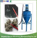 Cadena de producción de goma semiautomática del polvo, polvo de goma que hace la máquina
