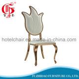 Современный дизайн высокие PU металлические обеденный стул с рестораном