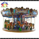 Carrusel de lujo 16 escaños rotonda caballo
