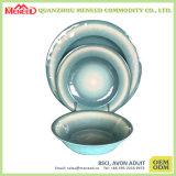 Dimensión de una variable redonda De cerámica-Como conjunto irrompible del vajilla de la melamina
