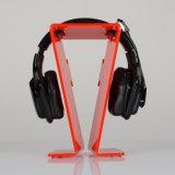Présentoir acrylique d'écouteur d'écouteur plus stable d'écouteur