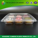 Contenitore di alimento di plastica del commestibile per la torta