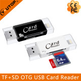 Microsd + SD OTG Card Reader para iPhone Android USB3.0 Flash Drive (YT-R008)