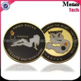 Shenzhen Manufacture Cheap Custom Metal Navy Police Challenge Coins
