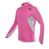 Оптовая продажа Китая задействуя пальто куртки напольного солнцезащитный крем Windbreaker Riding Quick-Dry