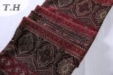 2016 tela roja y de Brown del Chenille de la alta calidad para el paño del sofá (FTH31900)