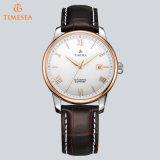 Negócio de couro clássico Wristwatch72570 do Mens mecânico automático