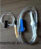 Conjunto de infusão segura grátis Dehp com Ce / ISO