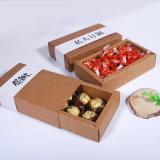 熱い販売の卸売チョコレートクラフト紙ボックス