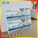 Segnale di pericolo del PVC/scheda di avviso d'avvertimento del PVC della scheda