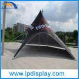 Tente d'étoile en forme d'araignée en douane extérieure