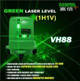 Livello ultra luminoso Self-Leveling Vh88 del laser di alta precisione di Danpon con il supporto magnetico della parete
