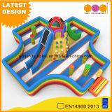 Rock grimper Fun City Diapositive gonflables pour enfants (AQ01794)