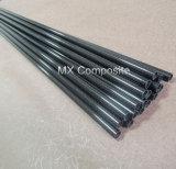 Tubo de la fibra del carbón de Matt 3k de la alta calidad