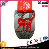 メダルを与える高品質の工場価格のカスタム銀によってめっきされる記念品