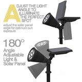 방수 IP44 태양 에너지 에너지 정원 램프
