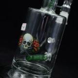 Wasser-Glas-Rohr-Pfeifen mit eindeutigem Entwurf