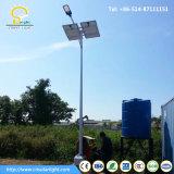 Via solare palo chiaro con illuminazione 130-150lm/W del LED