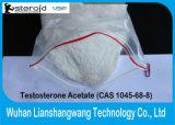 Injizierbares Prüfungs-As CAS 1045-69-8 des Testosteroone Azetat-99% für Muskel-Gewinn