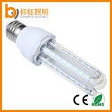 base da lâmpada E27 do milho do diodo emissor de luz da forma de 9W U bulbo do milho do diodo emissor de luz de uma iluminação de 360 graus