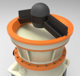 Frantoio idraulico del cono del basalto per il complesso e la sabbia (GPY500)