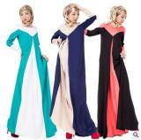 Longue robe élégante de lacet de femmes de chemises pour l'usager