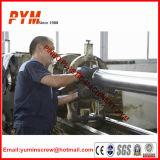 Hoja de PVC cónico de doble tornillo barril