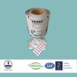 Resistente a la humedad Farmacéutica compuesto de película para empaquetado píldoras
