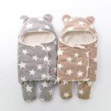 Suchen-süsse neugeborene Swaddle und empfangen Zudecken, Blanket&Headband Set