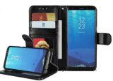 フリップSamsungのための革移動式携帯電話の箱