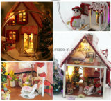 DIY Glass Ball Doll House para presente