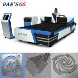 Tagliatrice del laser della fibra del sistema 500W 1000W di taglio del laser della fibra