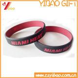Таможня промотирования отсутствие логоса резиновый браслет Wrisband и силикона (YB-HR-101)