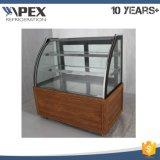 Armadietto di esposizione commerciale della torta dell'apex nello standard di alta qualità