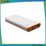 côté mobile du pouvoir 10000mAh avec le type port USB de C et lumière micro d'instantané