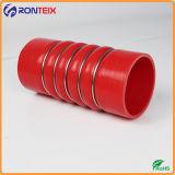 Le radiateur tuyau flexible en silicone, bosse en silicone flexible, bosse avec bagues de tube