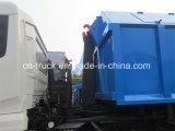 Dongfeng 10ton 12tonの屑コレクターのごみ収集車