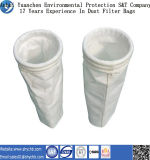 Poliester que filtra los bolsos de filtro materiales del polvo, bolso de filtro del polvo del poliester
